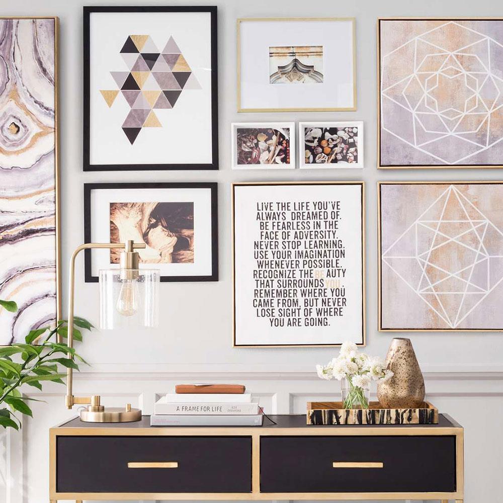 Super-design-idéer-bild-galleri-vägg-med-syfte Hur man bygger den perfekta galleriväggen