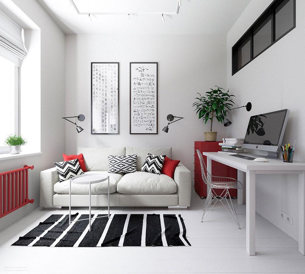 Färgtema-idéer-för-små-lägenheter Interiör-design-lösningar för din lilla lägenhet