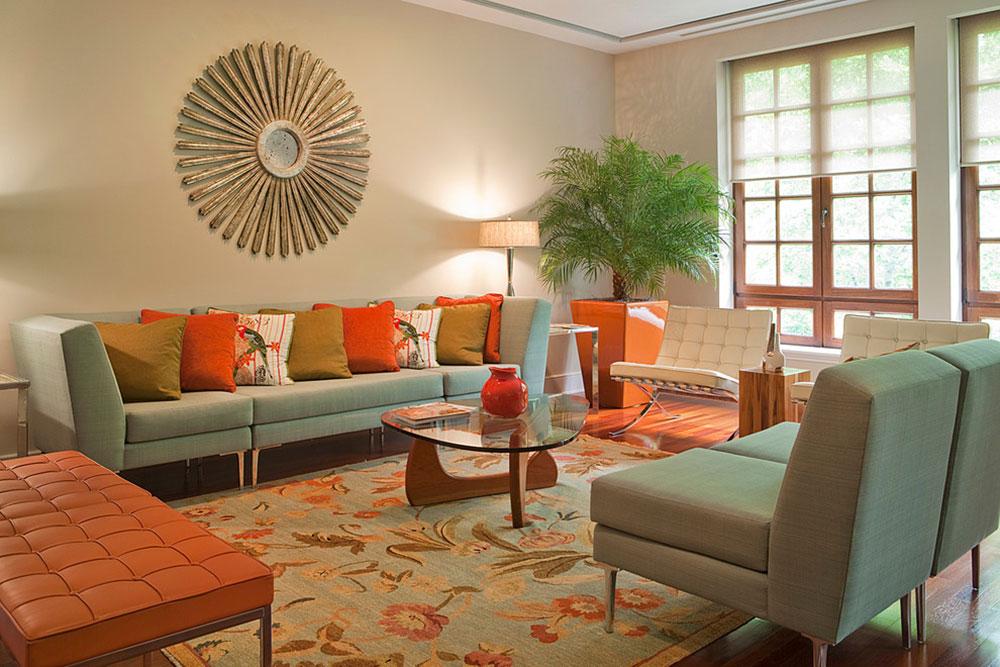 Lägga till accenter till ett neutralt interiör med Color13 Lägga till accenter till ett neutralt interiör med Color