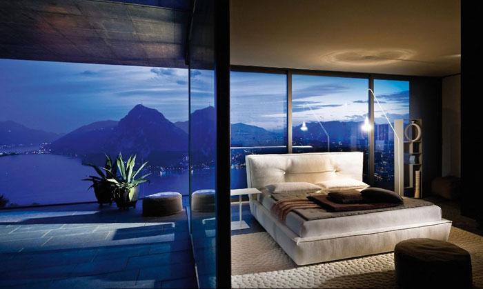 79047709195 En samling sovrum med fantastisk utsikt