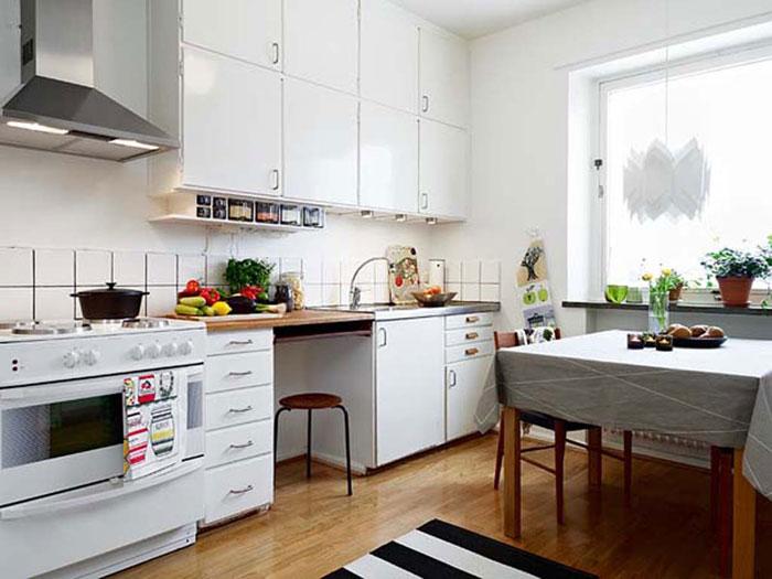 66498210283 Tips och förslag för att designa ett litet kök