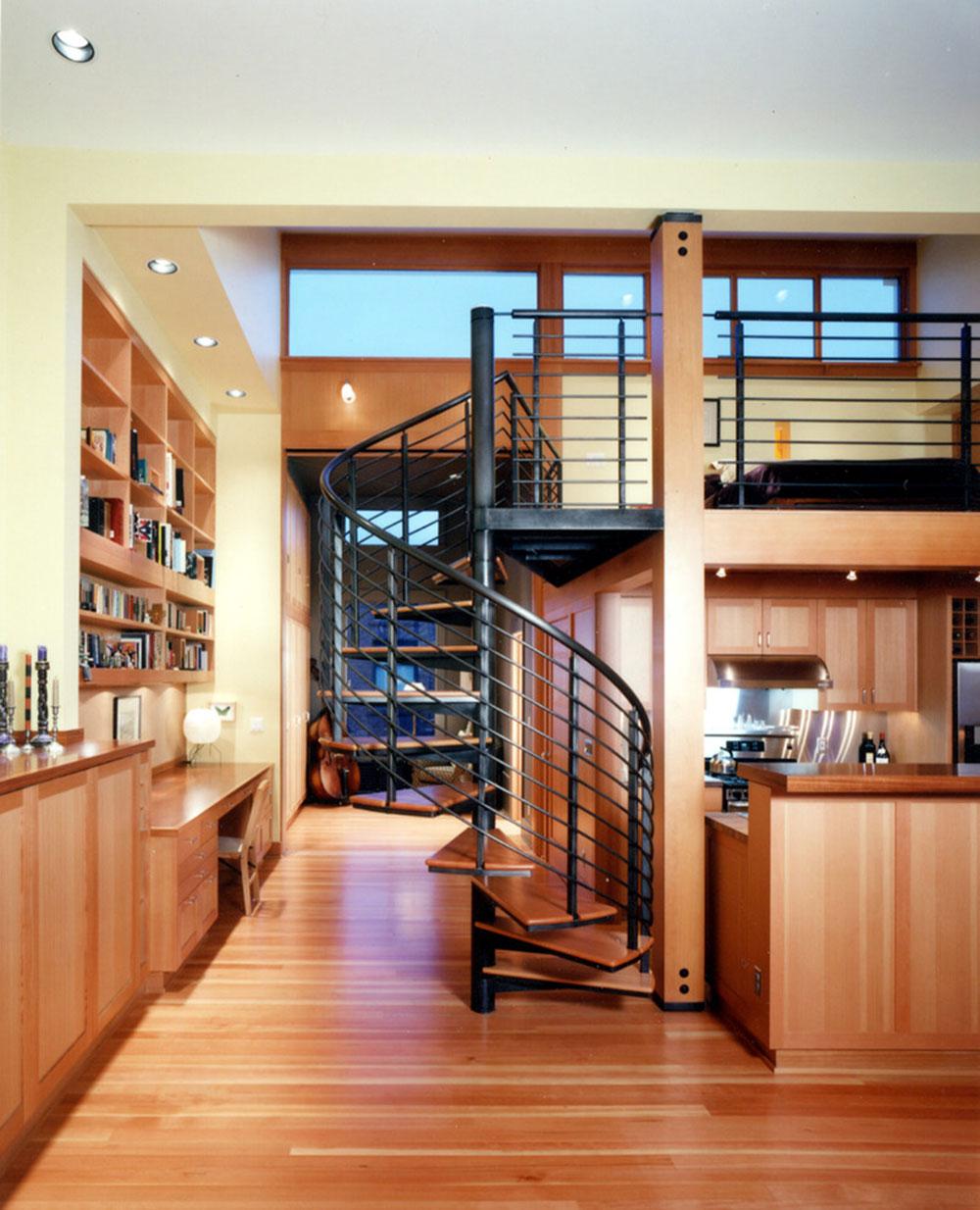 Modern och utsökt flytande trappa17 Moderna och utsökta flytande trappkonstruktioner