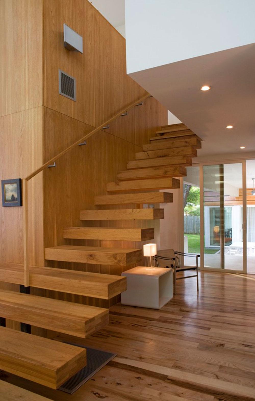 Moderna och utsökta flytande trappor5 Moderna och utsökta flytande trappkonstruktioner