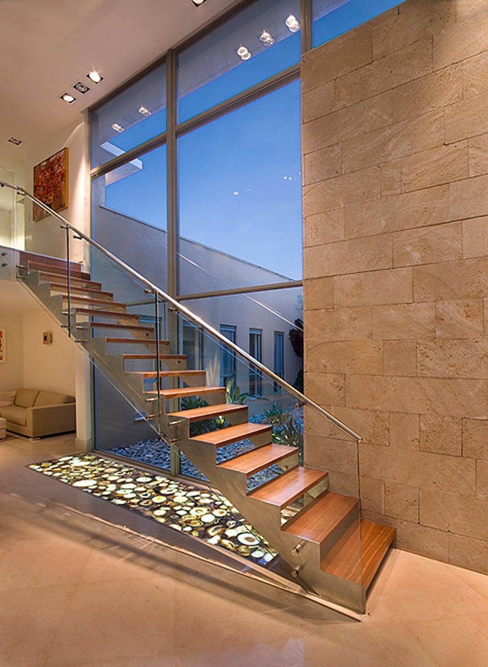 Moderna och utsökta flytande trappor3 Moderna och utsökta flytande trappor