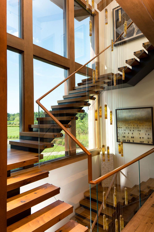 Modern och utsökt flytande trappa4 Moderna och utsökta flytande trappkonstruktioner