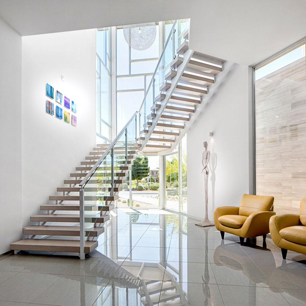 Moderna och utsökta flytande trappor12 Moderna och utsökta flytande trappor