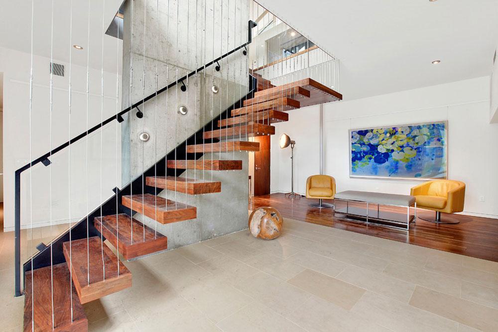 Moderna och utsökta flytande trappor8 Moderna och utsökta flytande trappor