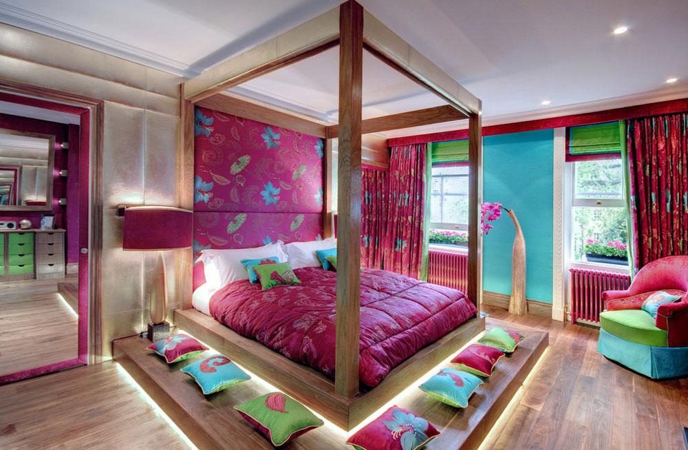 Njut av ditt liv med dessa färgglada sovrum.  4 Njut av ditt liv med dessa färgglada sovrum