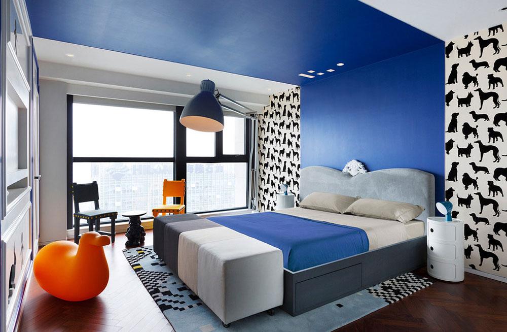 Njut av ditt liv med dessa färgglada sovrum 2 Njut av ditt liv med dessa färgglada sovrum