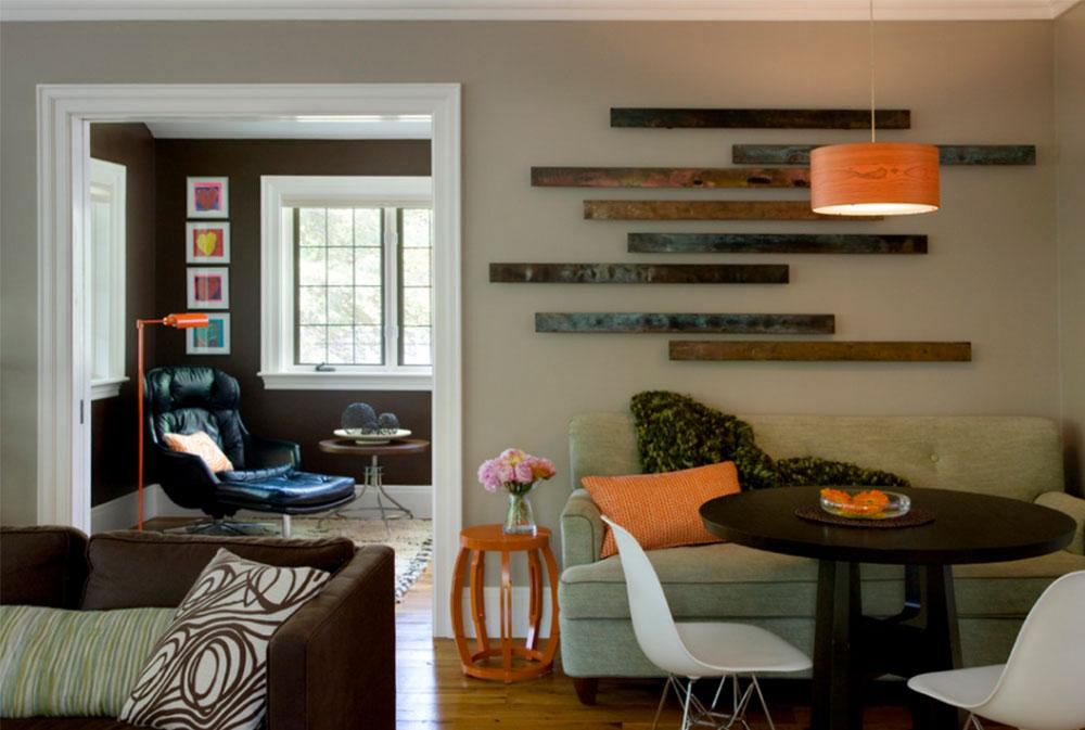 Bild 2-9 Väggdekorationsidéer: Hur man dekorerar väggar