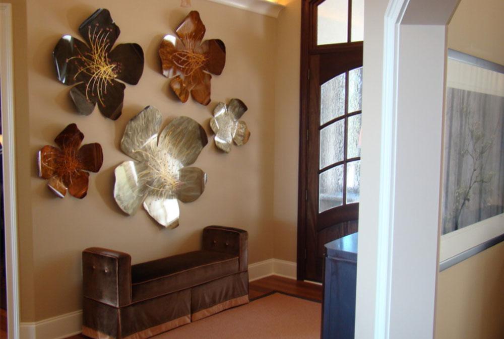 Bild 6-9 Väggdekorationsidéer: Hur man dekorerar väggar