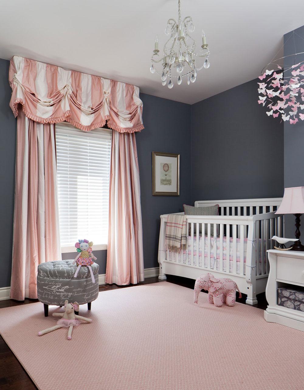 41 färgscheman för barnhem för ditt babyrum