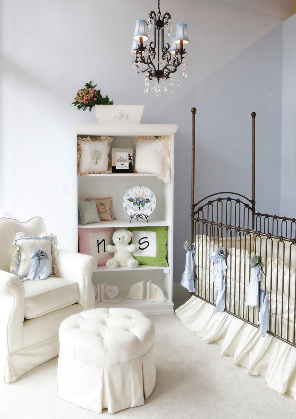 141 barnfamiljens färgscheman för ditt babyrum