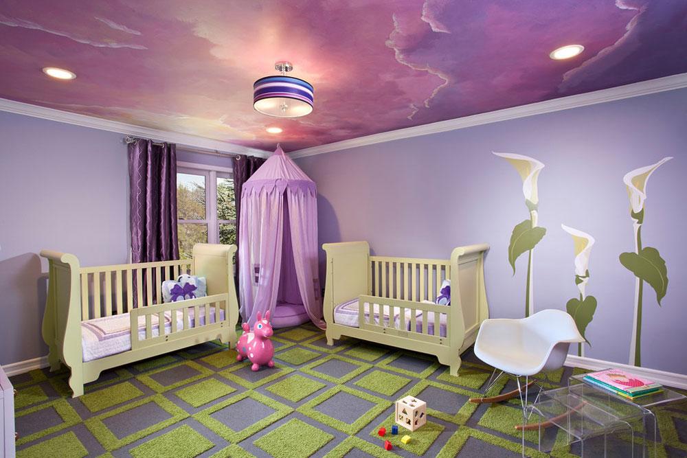 13 babyskolor färgscheman för ditt babyrum