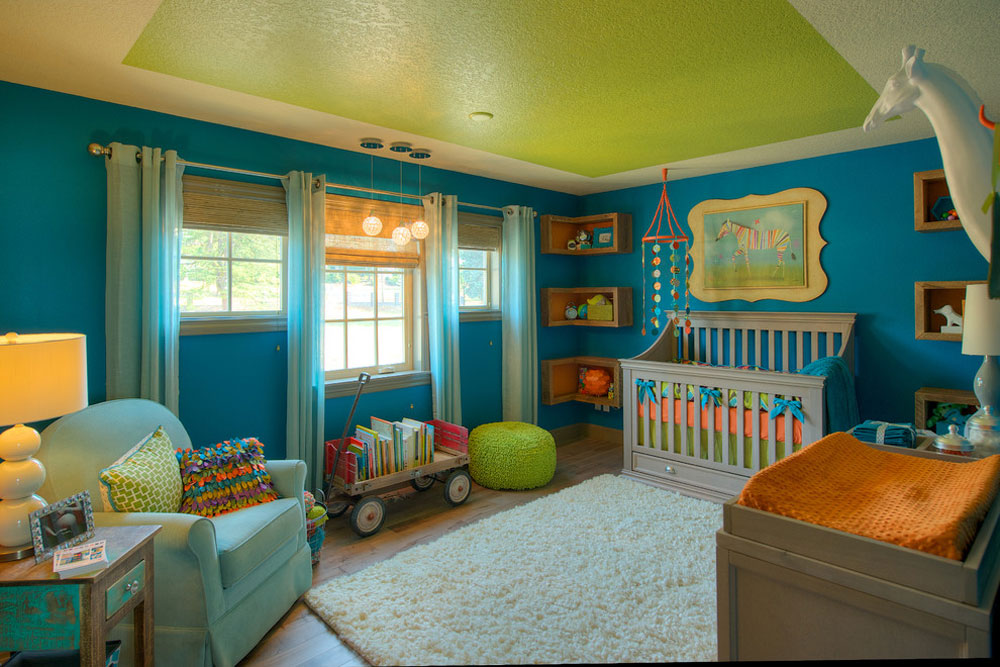 121 babyskolor färgscheman för ditt barns rum