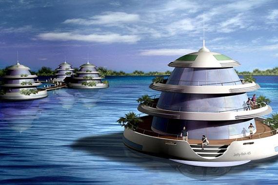 amfibiska-4 futuristiska lyxresorter som kommer att blåsa dig