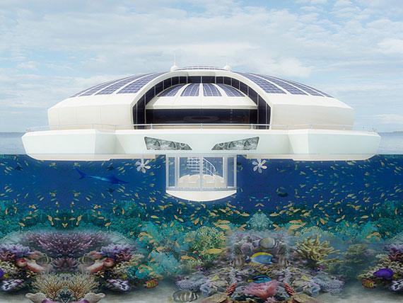 Solar Floating-5 futuristiska lyxresorter som kommer att blåsa bort dig