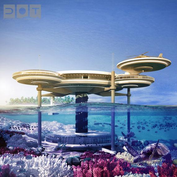 discus-1 Futuristiska lyxresorter som kommer att blåsa dig