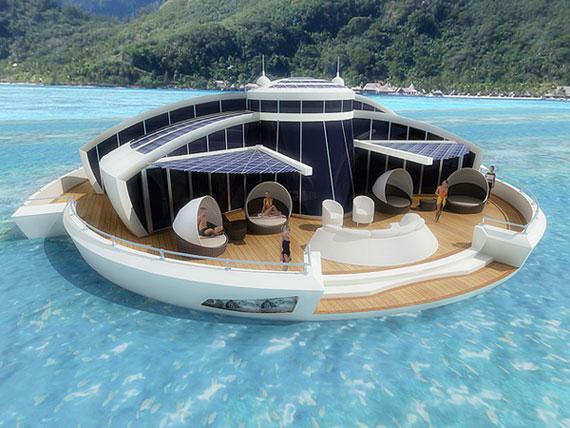 Solar Floating-3 futuristiska lyxresorter som kommer att blåsa bort dig