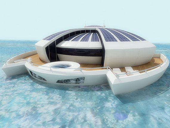 Solar Floating-1 futuristiska lyxresorter som kommer att blåsa bort dig