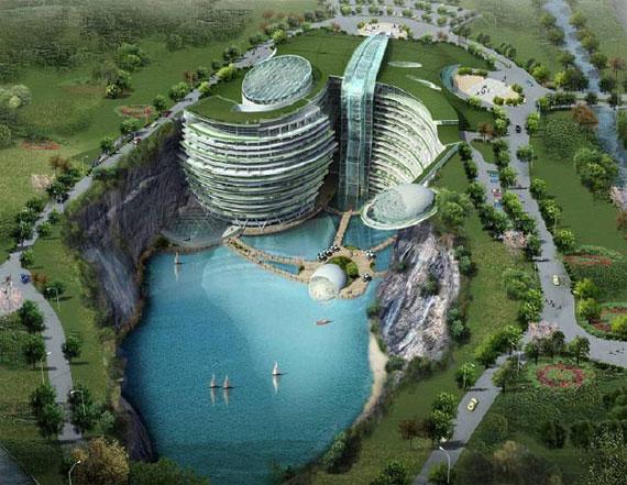 WATERWORLD-2 futuristiska lyxresorter som kommer att blåsa bort dig