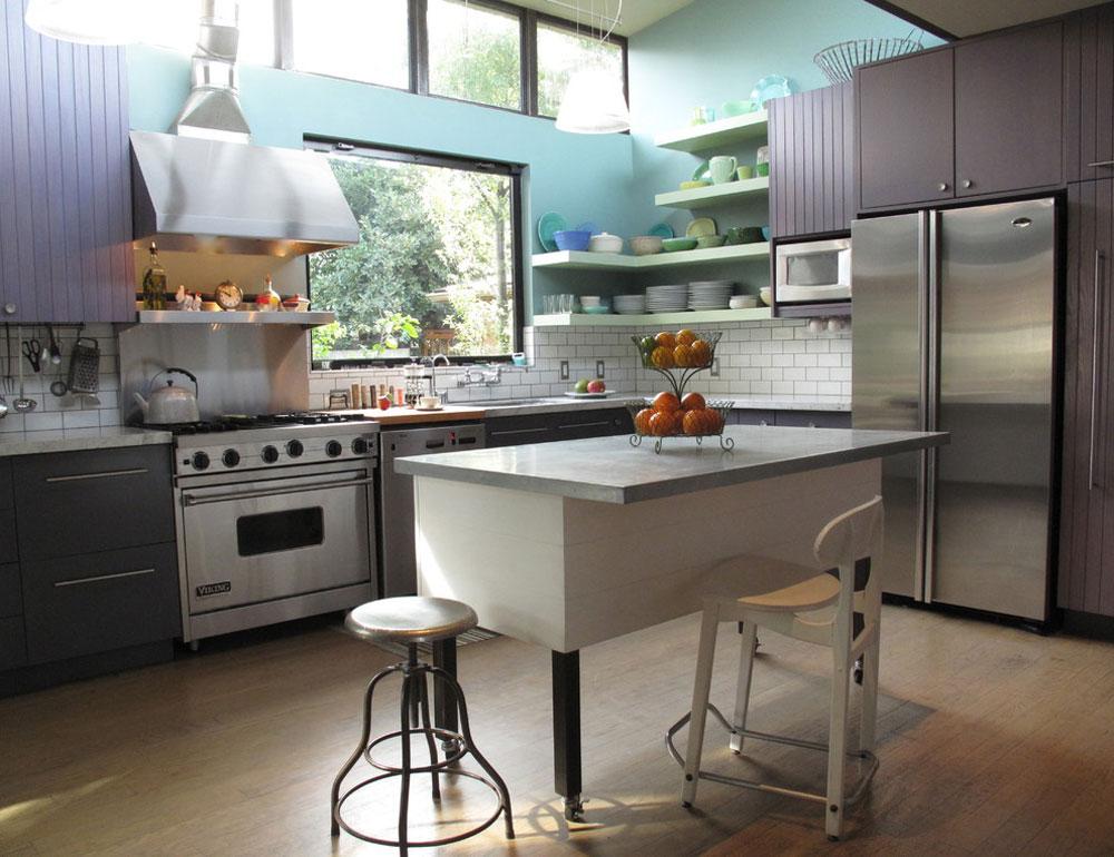 Kains-Avenue-Kitchen-by-Artdecor Använd hörnhyllor för att få ut det mesta av ditt kök