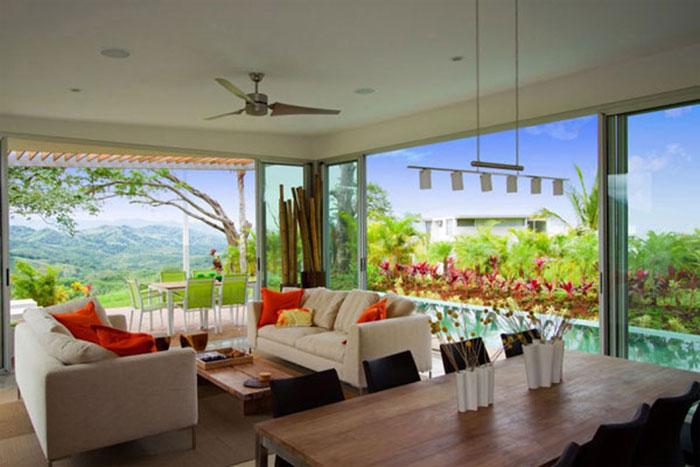 t12 Tropiska vardagsrumsdesigner från paradisets hörn