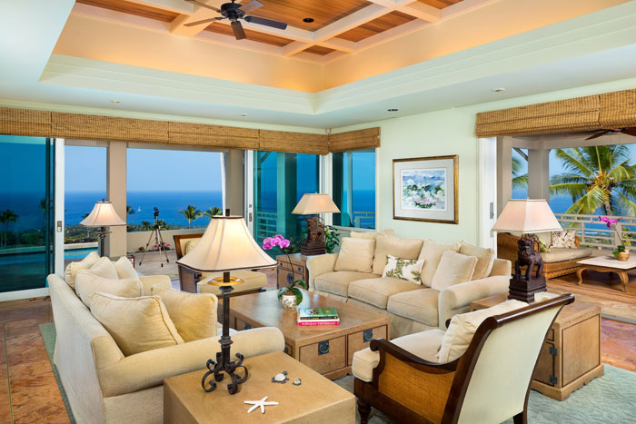 t14 Tropiska vardagsrumsdesigner från paradisets hörn