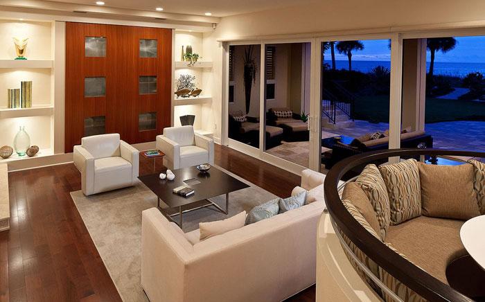 t11 Tropiska vardagsrumsdesigner från paradisets hörn