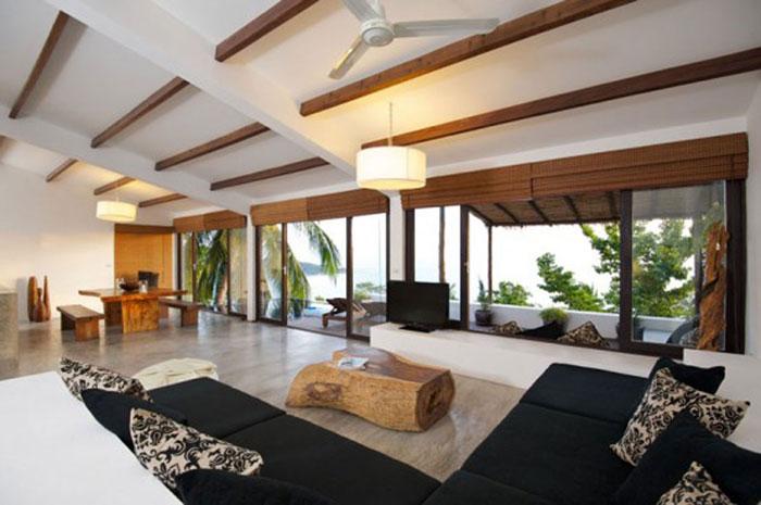 t3 Tropiska vardagsrumsdesigner från paradisets hörn