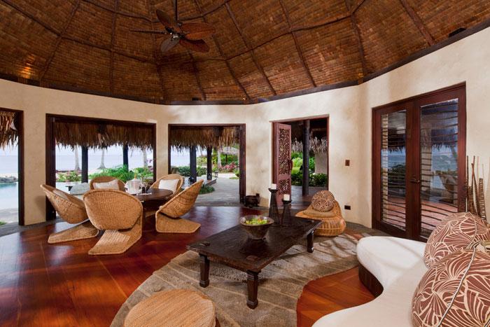 t5 Tropiska vardagsrumsdesigner från paradisets hörn