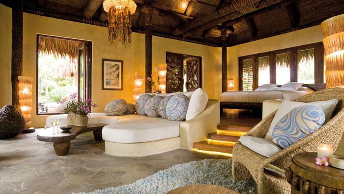 t6 Tropiska vardagsrumsdesigner från paradisets hörn