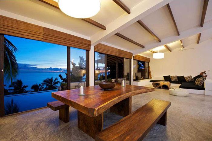 t20 Tropiska vardagsrumsdesigner från paradisets hörn