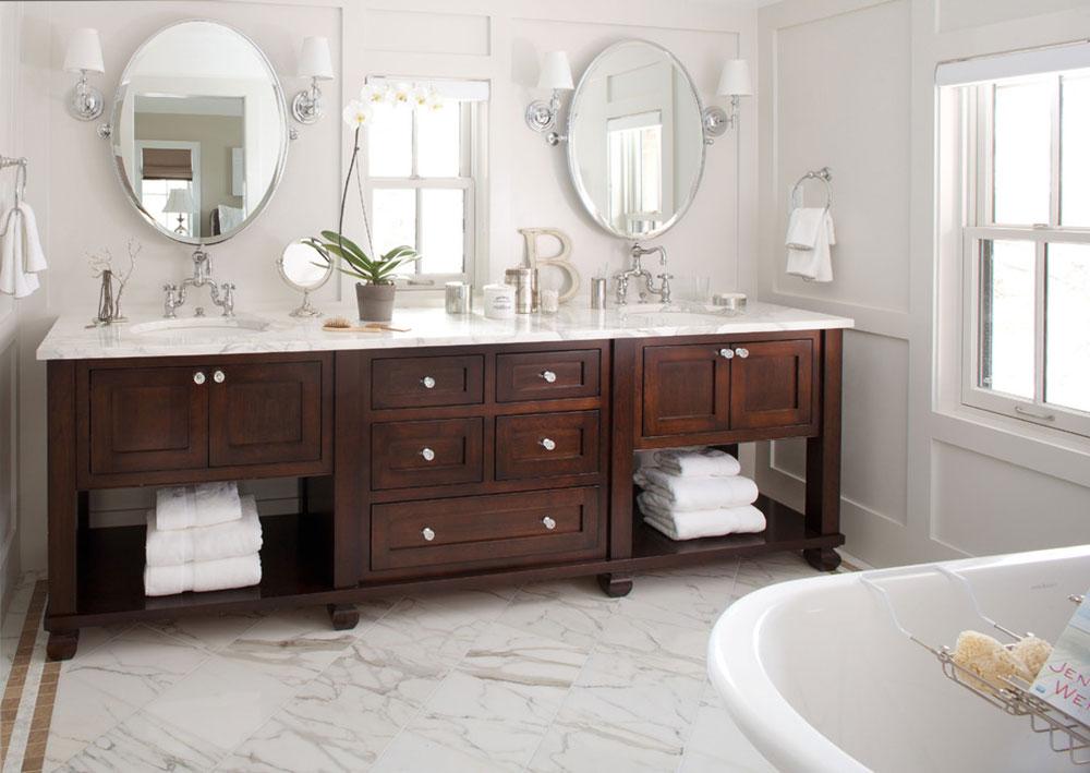 Det eleganta badrummet bör prioriteras6 Den eleganta utformningen av ditt badrum bör prioriteras