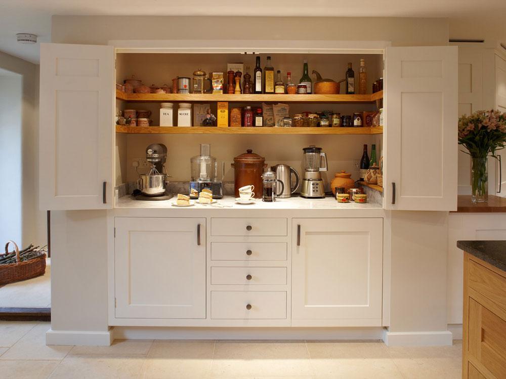 Magnificent-Larder-Kitchen-by-Figura-Kitchens-Interiors Pantry Cabinet Ideas: Hyll- och förvaringsidéer för ditt kök