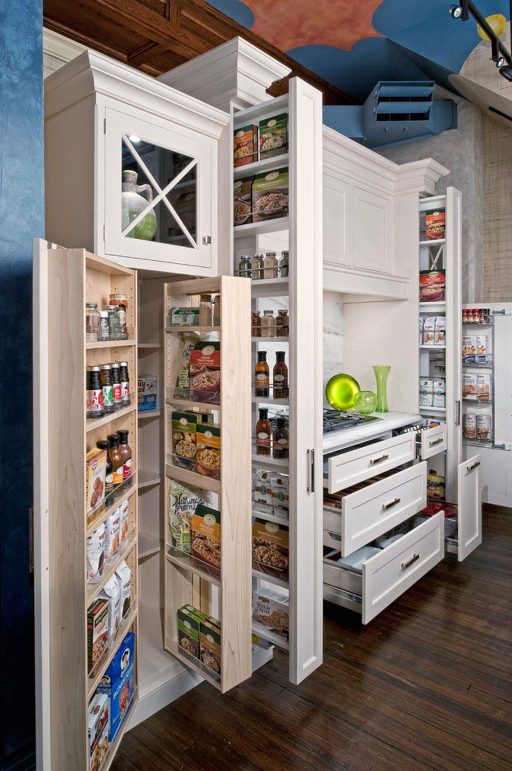 Bergen-County-NJ-Classic-White-Kitchen-by-The-Hammer-Nail-Inc.  Idéer för skafferi: hyllor och förvaringsidéer för ditt kök