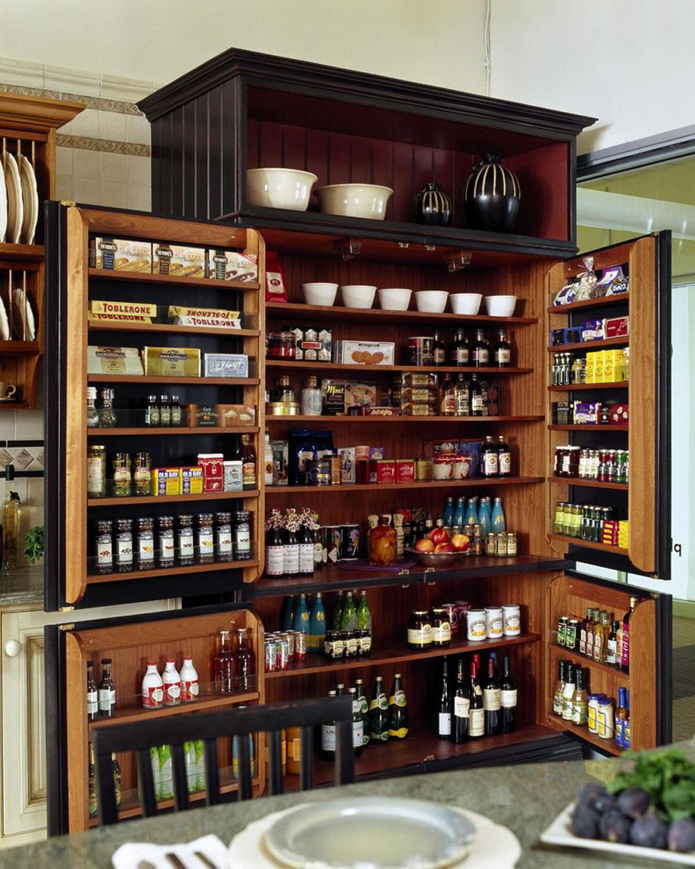 Showroom-Display-by-Venegas-and-Company Pantry Cabinet Idéer: Hyll- och förvaringsidéer för ditt kök