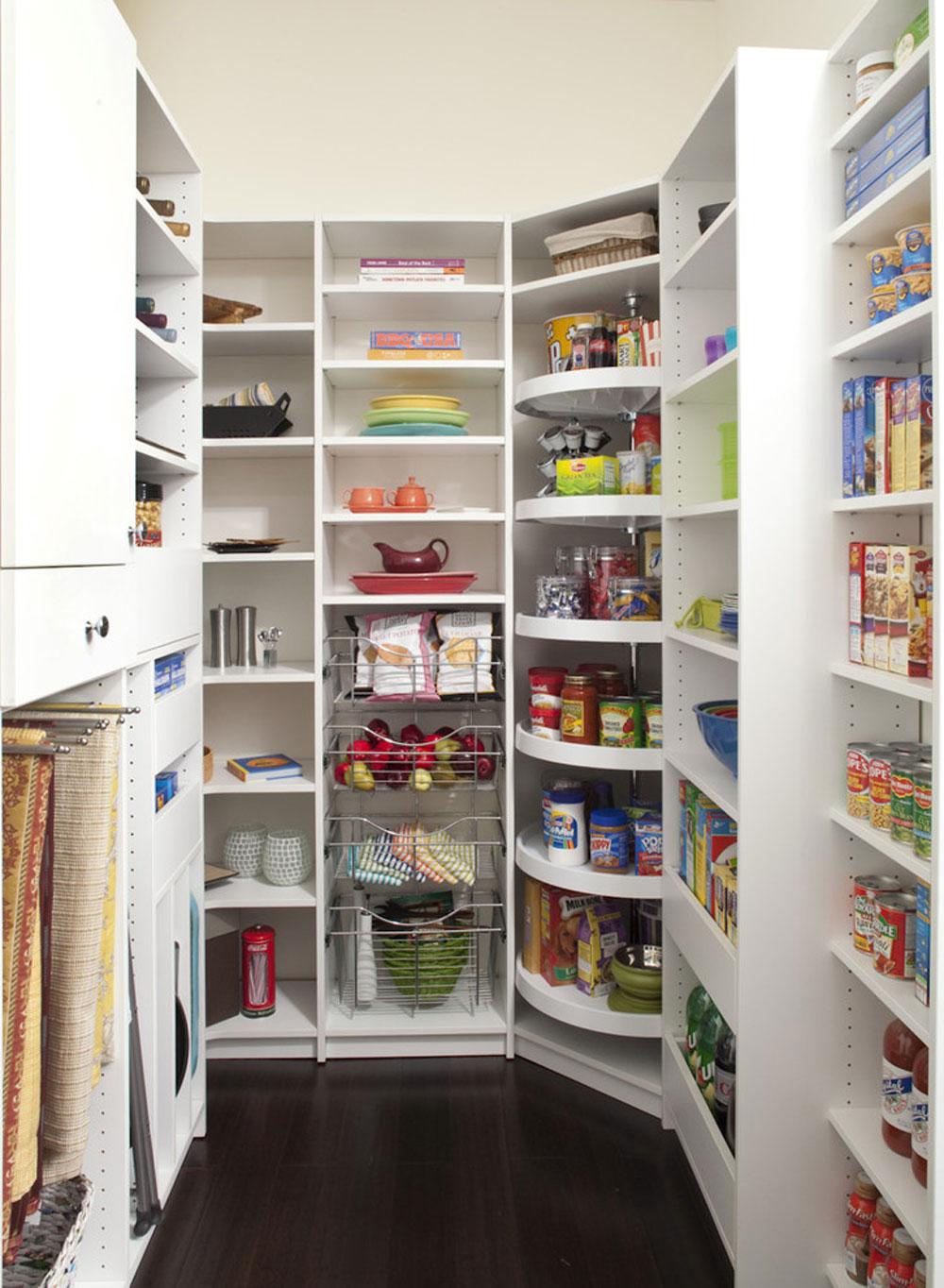 Väl utformad skafferi för att hålla dig från The Closet-Works-Inc.  Idéer för skafferi: hyllor och förvaringsidéer för ditt kök