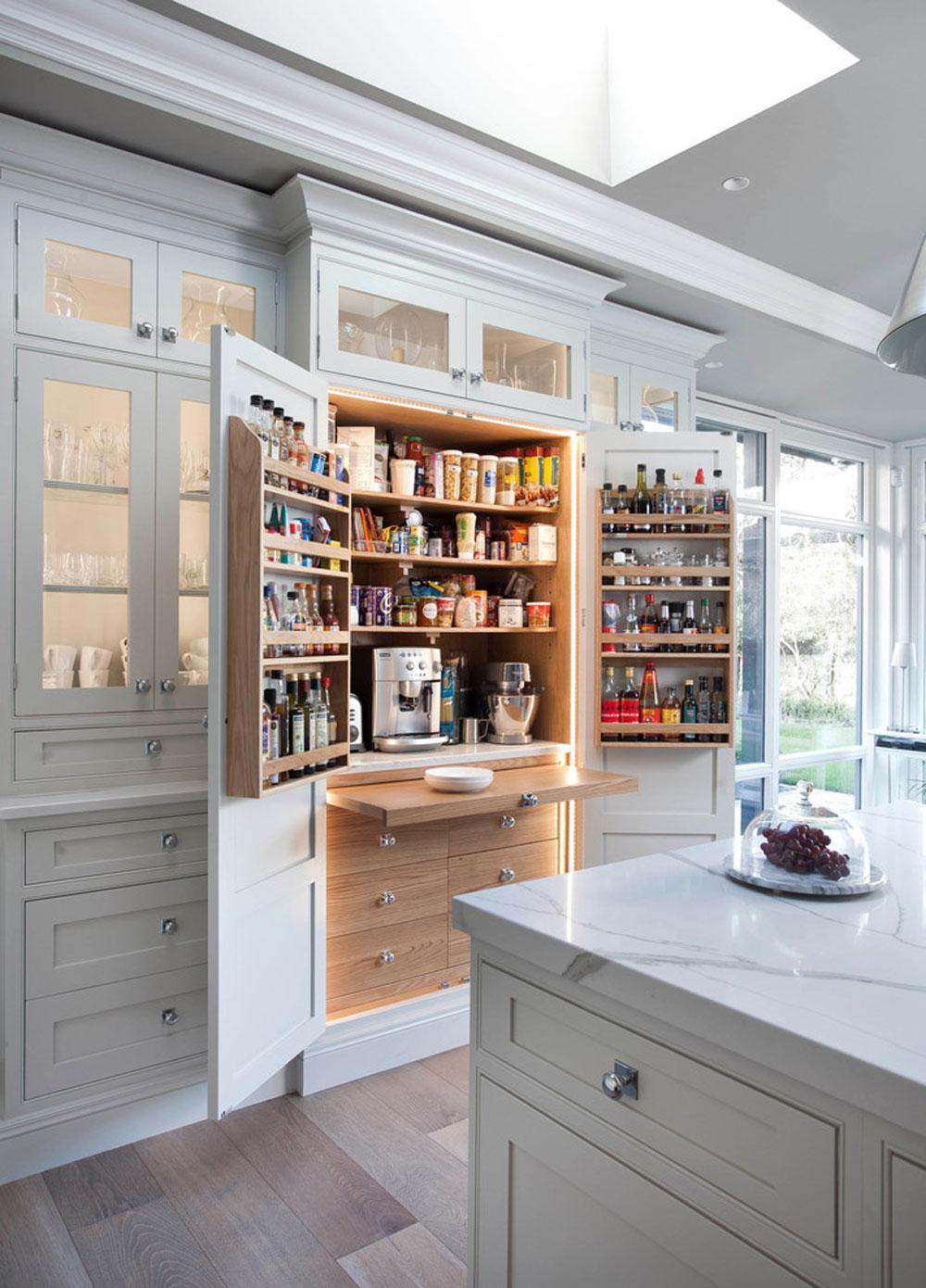 Idéer för skafferi från Kitchen-Larder-by-Woodale: Idéer för hyllor och förvaring för ditt kök