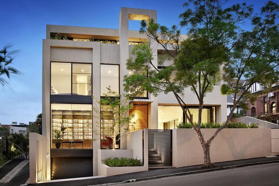 Domain Road Residence Om du någonsin utformar ditt eget hus, gör det med en arkitektur som denna