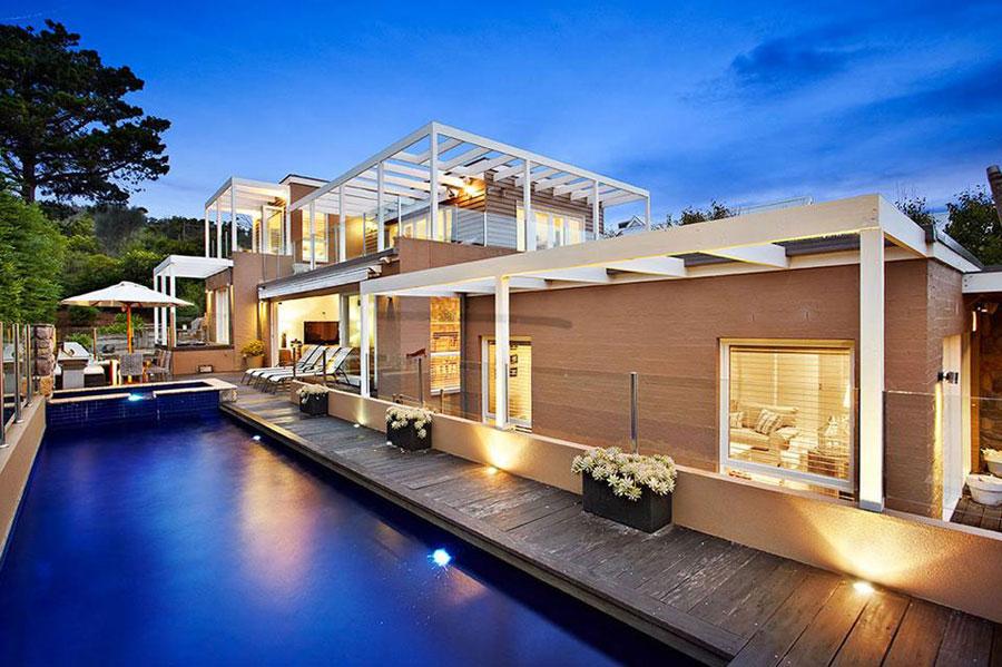 Beach-Home Om du någonsin utformar ditt eget hem, gör det med en arkitektur som den här