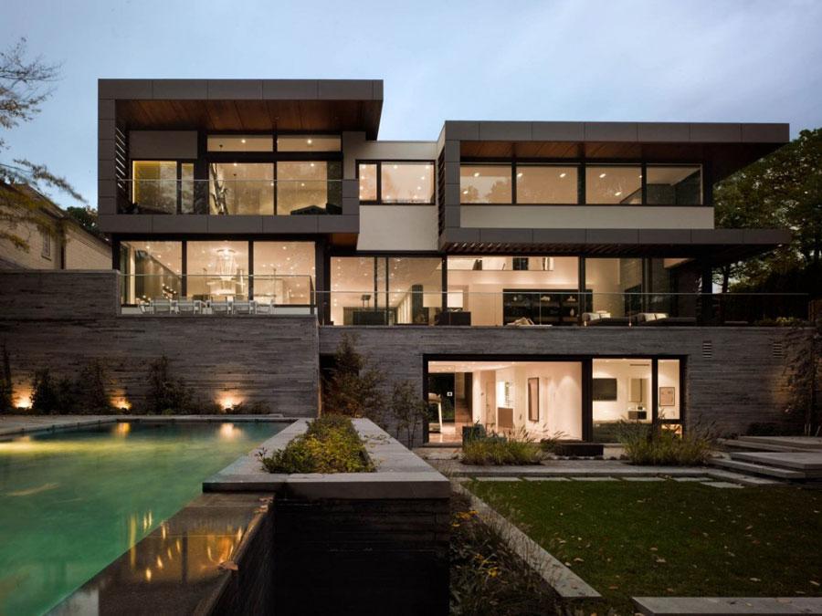 Toronto-Residence-by-Belzberg-Architects Om du någonsin utformar ditt eget hem, gör det med arkitektur som den här