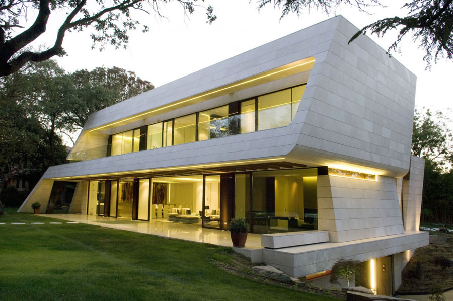 Vivienda-en-Madrid-by-A-cero Om du någonsin utformar ditt eget hem, gör det med en arkitektur som den här