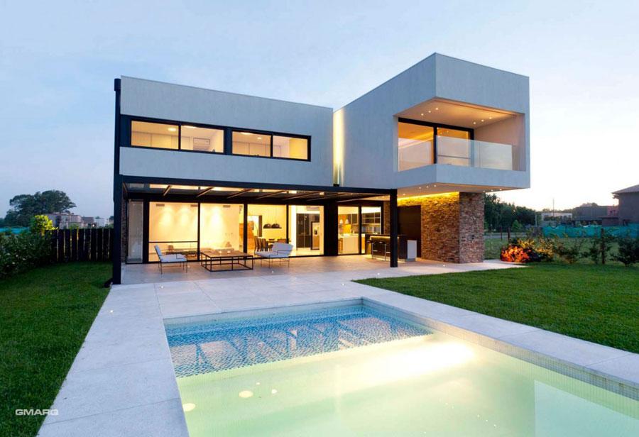 A-House-by-Estudio-GMARQ Om du någonsin designar ditt eget hus, gör det med arkitektur som den här