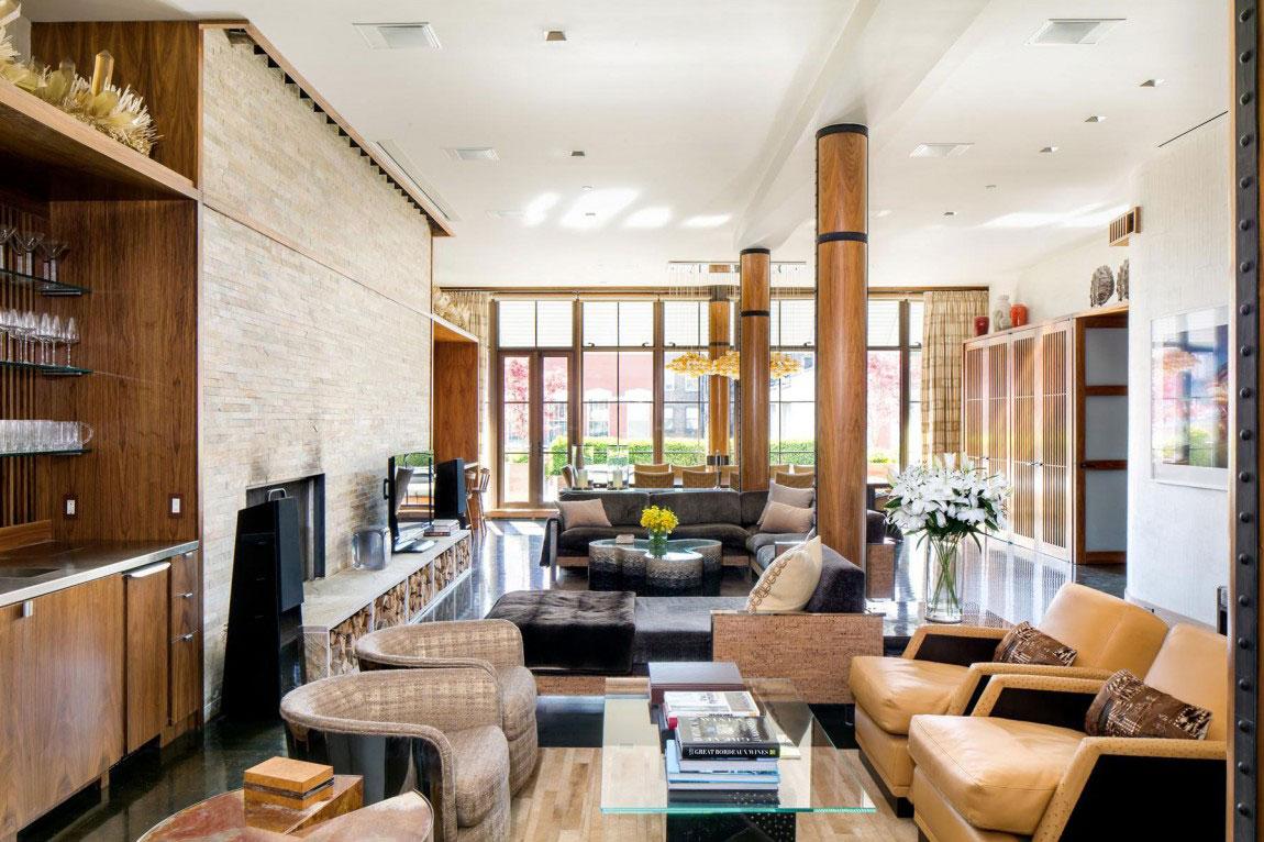 Penthouse-BA-högkvalitativ New York Property-3 Penthouse B, en fastighet i New York av hög kvalitet