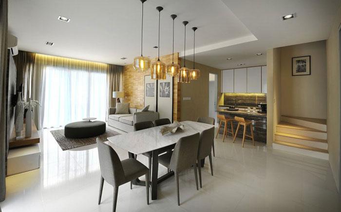 83422645435 Elegant inredningsdesign i Kuala Lumpur av Blu Water Studio