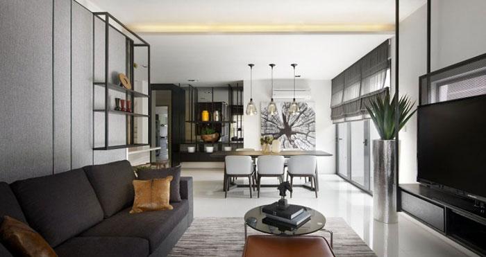 83422658535 Elegant inredningsdesign i Kuala Lumpur av Blu Water Studio