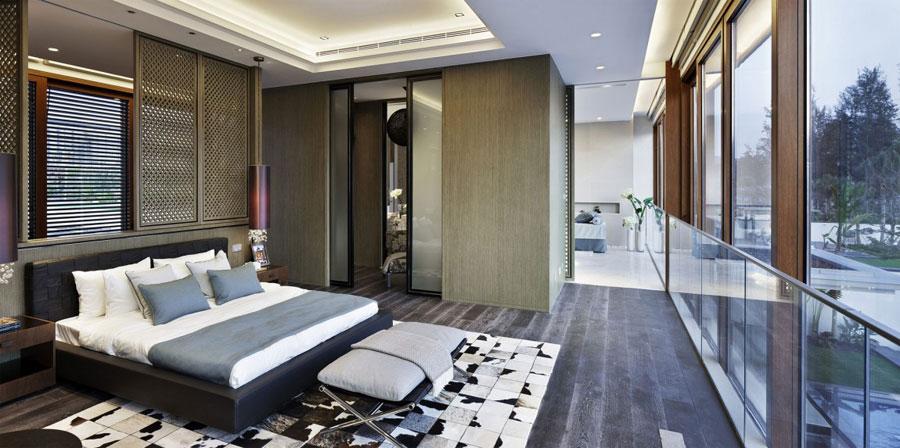 12 Modern kinesisk villa med lyxiga funktioner designad av Gad