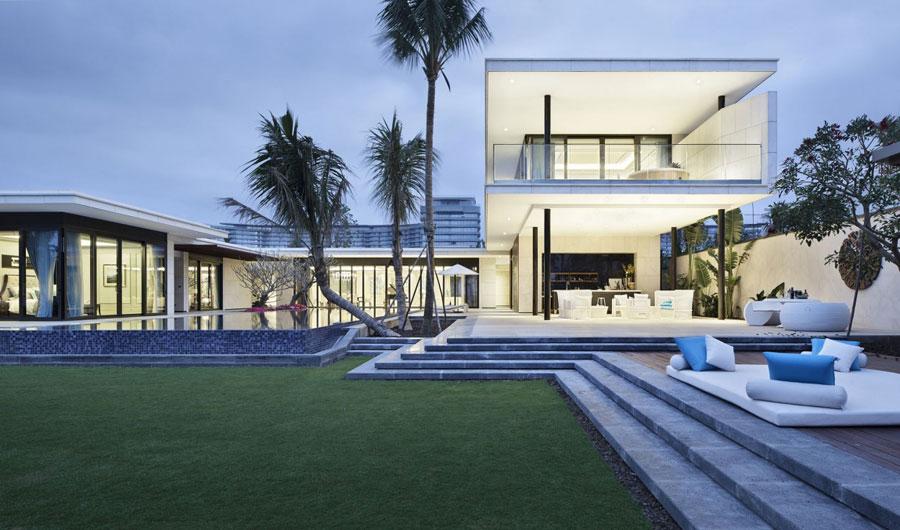 7 Modern kinesisk villa med lyxiga funktioner designad av Gad