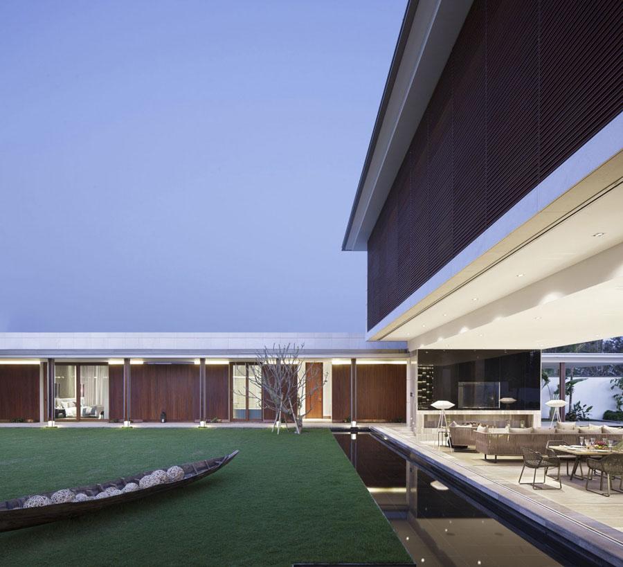 13 Modern kinesisk villa med lyxiga funktioner designad av Gad